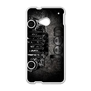 HTC One M7 Custom Cell Phone Case Shepherd Jeep Car Logo Case Cover WWFF35663