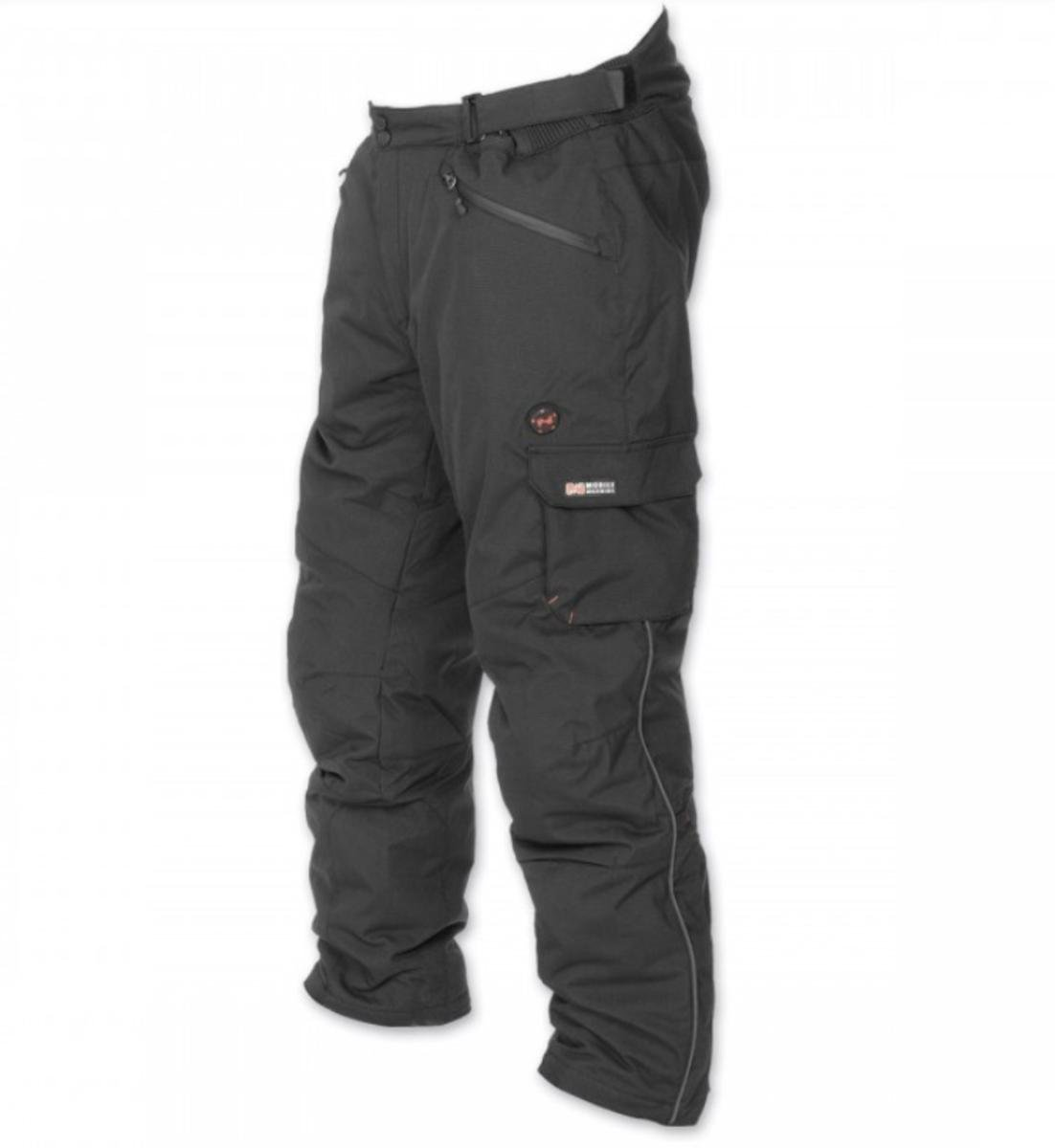 Mobile Warming Unisex-Adult Dual Power Heated 12.v Pants (Black, X-Large)