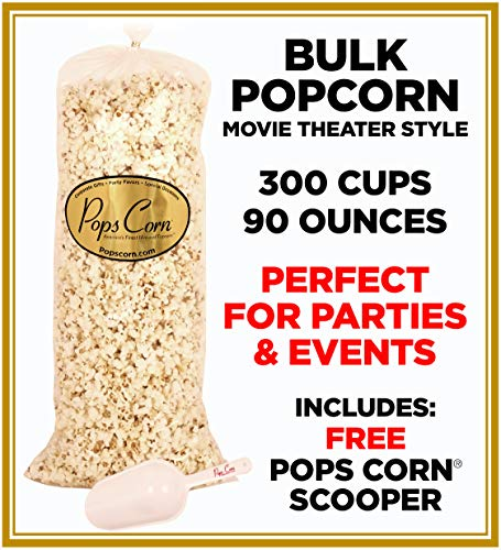 (Gourmet Popcorn BULK/WHOLESALE-300 cups-90oz-MOVIE THEATER STYLE! PARTY)