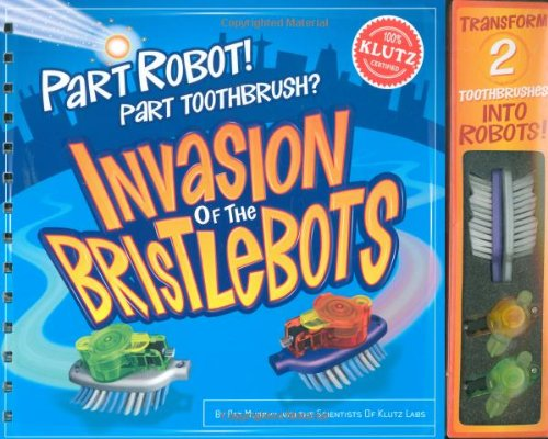 Book cover from Par Robot! Part Toothbrush? Invasion of the Bristlebots by Pat Murphy