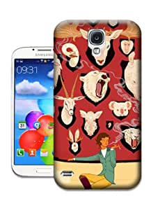 Desirai Labrada Illustration 3 Cheap Hard Protective Plastic Case for Samsung Galaxy S4