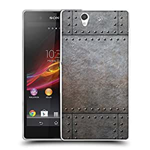 Super Galaxy Coque de Protection TPU Silicone Case pour // V00002779 remaches metálicos // Sony Xperia Z L36H C6603