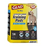 Glad for Pets Charcoal Puppy Pads | Black Training