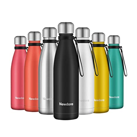 Newdora - Botella de Agua Acero Inoxidable 500ml ...