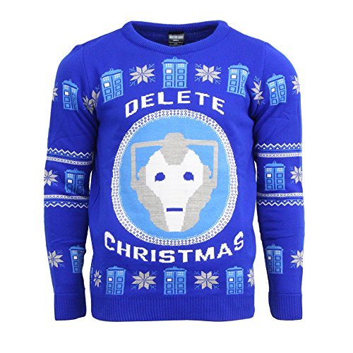 Doctor Who Official BBC Christmas Jumper
