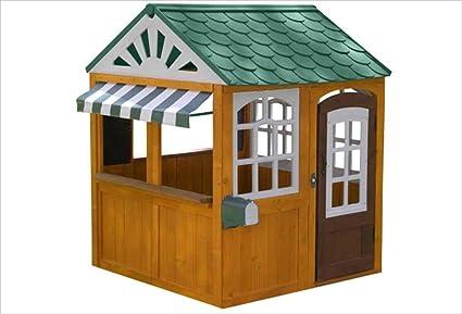 KidKraft 405 Casita de juegos para jardín y exterior al aire libre ...