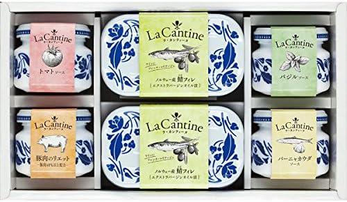ラ・カンティーヌ ソース&さばフィレ詰合せ お中元お歳暮ギフト贈答品プレゼントにも人気