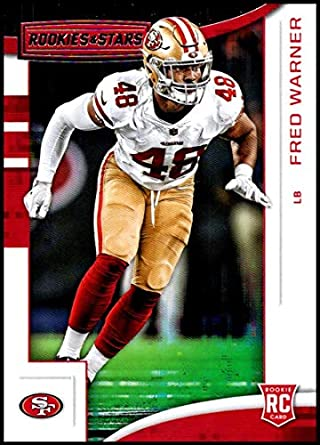 finest selection 3dd9a f29b9 Amazon.com: 2018 Panini Rookies and Stars #164 Fred Warner ...