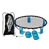 Franklin Sports Spyderball Game Set - Includes 3 Balls, Carrying Case and Rules - Played Outdoors, Indoors, Yard, Lawn, Beach - Durable Tight Net