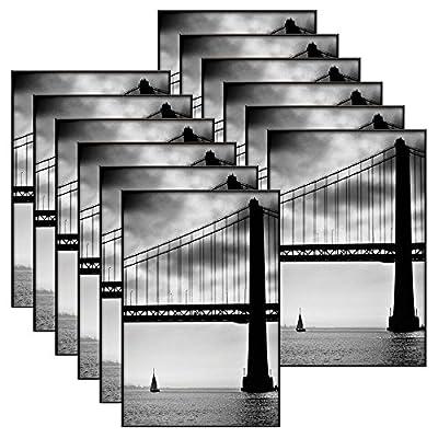 MCS 4x6 Inch Format Frame 12-Pack, Black (65471)