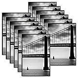 MCS 4x6 Inch Format Frame 12-Pack, Black