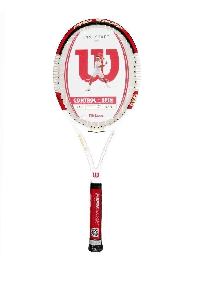 d606ab5bb1 Wilson, racchetta da tennis Pro Staff 95S BLX RRP: Amazon.it: Sport e tempo  libero