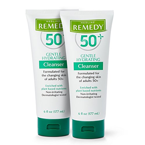 - Remedy 50+ Gentle Plant-Based Hydrating Cleanser, 6 Ounce (2 Pack)