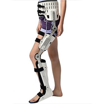 Wei-d Fijación de rodilla dura tobillos ortosis muslo prótesis ...