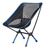 Portable Folding Adjustable Camping Stool Chair Seat Fishing Picnic BBQ Beach