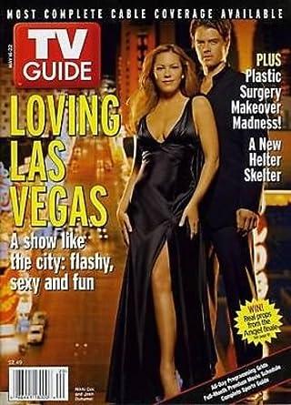 Amazon com: Nikki Cox Josh Duhamel Las Vegas Large Size TV Guide