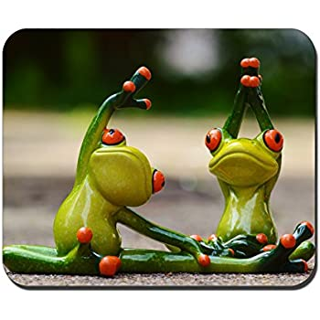 RUBIN Mouse Pad Anti-Slip Personalized Rectangle Gaming MousePads Size:9.4 x7.9 RB311 Tree Frog