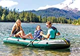 Intex Seahawk 3, 3-Person Inflatable Boat Set with
