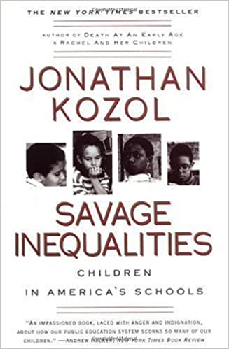 Image result for Savage Inequalities: Children in America's Schools.