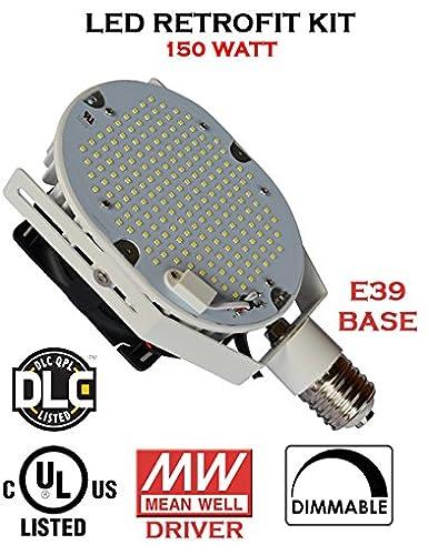 150 WATT UL, DLC Listed Retrofit Led Light Kit for Parking Lot, Shoe Box Street Pole Light - - Amazon.com