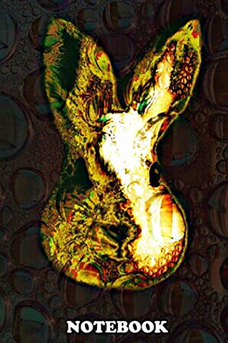 """Notebook: Wild Wabbit , Journal for Writing, College Ruled Size 6"""" x 9"""", 110 Pages"""