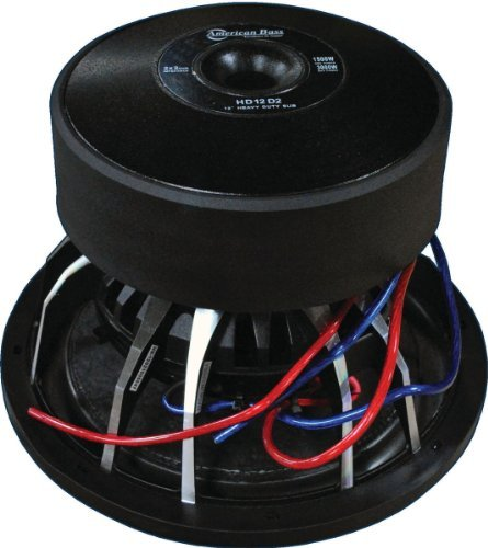 American Bass Hd15d2 15 3000w Car Audio Subwoofer Sub 3000 Watt