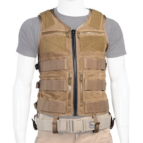 Coyote Standard Hand Crafted in The USA Atlas 46 AIMS Saratoga Vest Universal Chest Rig