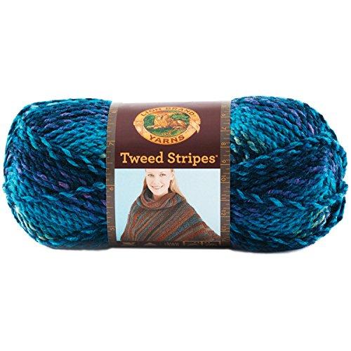 Lion Brand Yarn 753-205S Tweed Stripes Y - Chunky Tweed Yarn Shopping Results