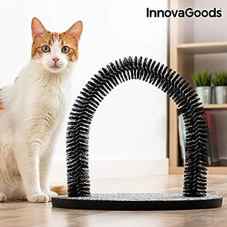 InnovaGoods IG811679 Rascador para Gatos y Arco Masajeador: Amazon.es: Productos para mascotas