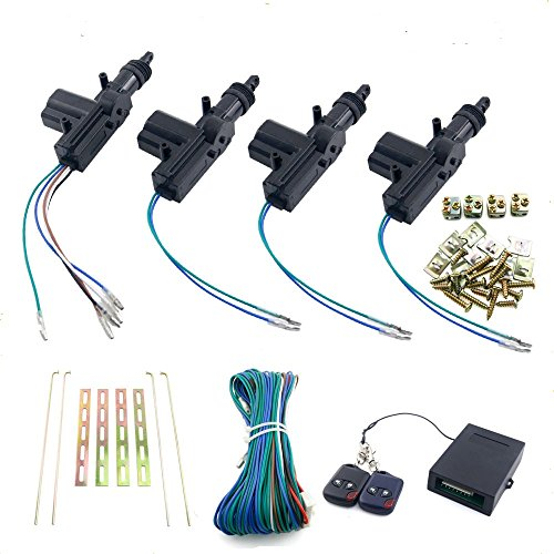 4 door power central lock kit - 6