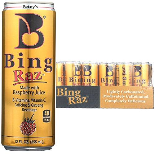 Bing Beverage Company Bing Raz, 12 Ounce (Pack of 24)