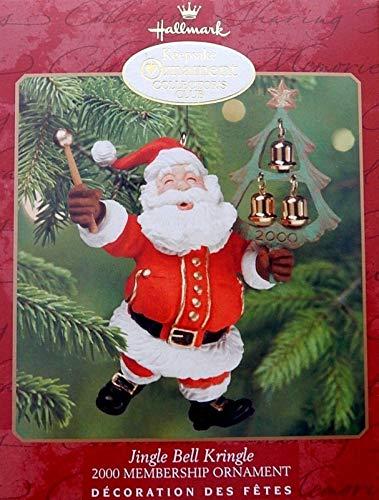 exceptionalbeauty 2000 Hallmark Jingle Bell Kringle Keepsake Membership Christmas Ornament