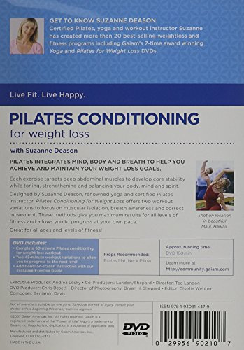 pilates for weight loss gaiam