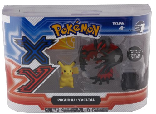 Pokemon X & Y: Pikachu & Yveltal Action Figure 2-Pack by TOMY