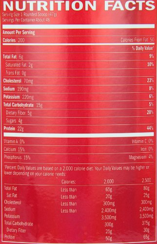 BSN SYNTHA-6 Protein Powder, Vanilla Ice Cream, 48 Servings