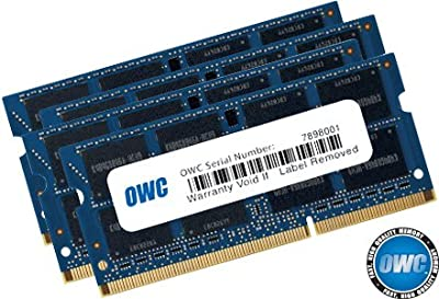 OWC 1867 MHZ DDR3 SO-DIMM PC3-14900 204 Pin CL11 Memory Upgrade