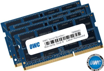 OWC 32GB (4 x 8 GB) 1867 MHZ DDR3 SO-DIMM PC3-14900 204 Pin CL11 Memory Upgrade by OWC