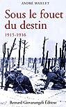 Sous le fouet du destin 1915-1916 par Maillet (II)