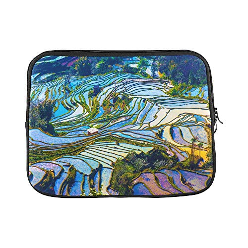 Design Custom Yunnan City Free Travel Romantic Color Sleeve Soft Laptop Case Bag Pouch Skin for MacBook Air 11