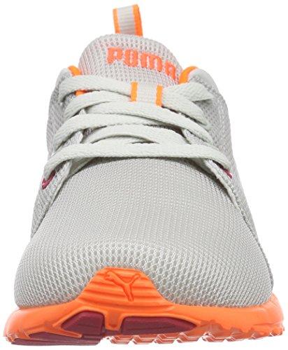 Course Puma Wn's Peach Silver puma de Chaussures 12 Carson Femme Gray Violet Grau Runner fluo Gris qXwnxS6X