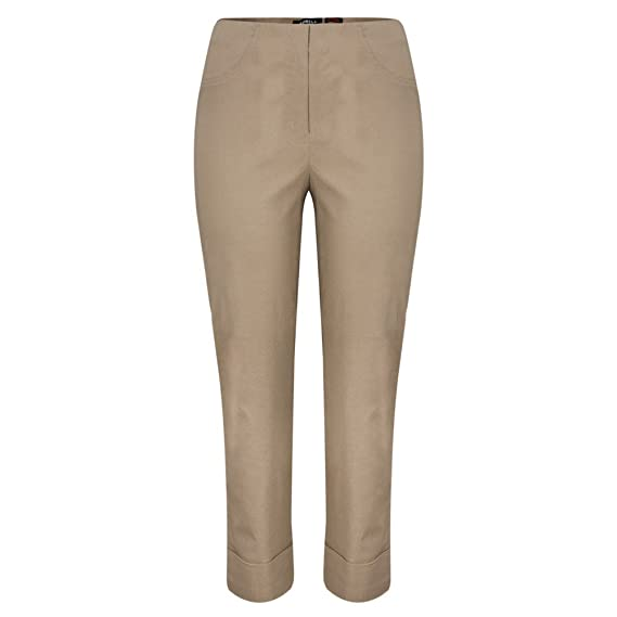 25dc7867e50 Image Unavailable. Image not available for. Colour  Robell Trousers - Bella  7 8 Cropped Trouser ...