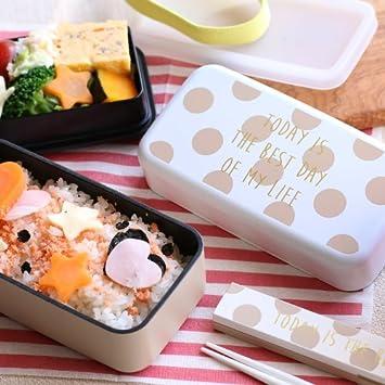 【大人可愛いお弁当箱】ニック スクエアランチボックス [全2色]