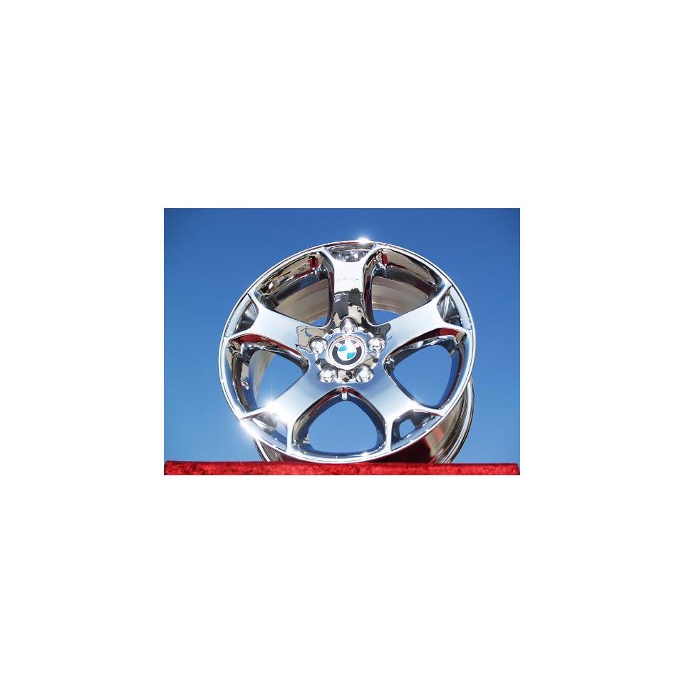 BMW X5 SportStyle 131 Set of 4 genuine factory 18inch chrome wheels