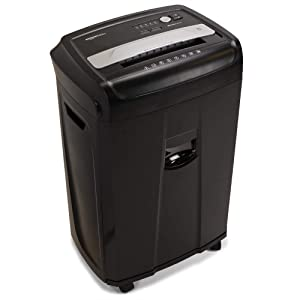 AmazonBasics 17-Sheet High-Security Micro-Cut Paper, CD, and Credit Card Shredder