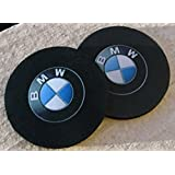 "Pair of Car Coasters for BMW! Highly Absorbent for any BMW cup holders! (2pcs) (3"")"