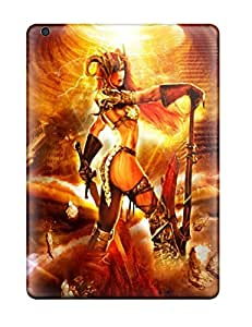 Defender Case With Nice Appearance (goddess Of War) For Ipad Air