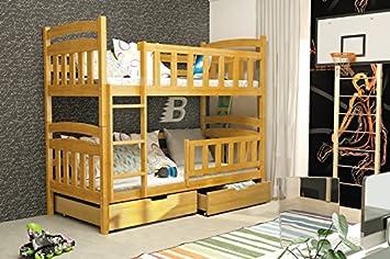 Etagenbett Doppel : Amazon etagenbett casper erle mit matratzen