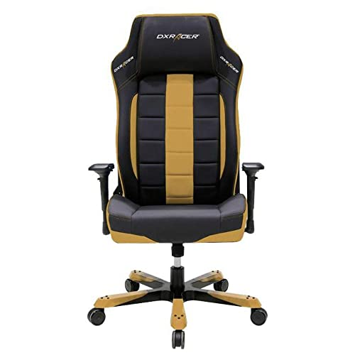 DXRacer OH BF120 NC Ergonomic, Computer Chair for Gaming, Executive or Home Office Boss Series Black Coffee