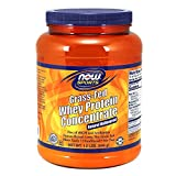 NOW Sports Grass-fed Whey Protein Concentrate, Natural Unflavored, 1.2-Pound Review