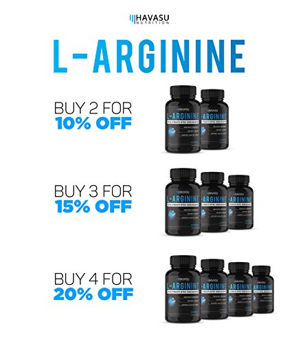 Extra Strength L Arginine 1200mg Nitric Oxide Supplement for Muscle Growth, Vascularity & Energy Powerful NO Booster With L Citrulline & Essential Amino Acids To Train Longer & Harder
